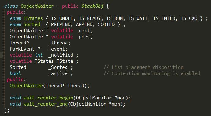 objectWaiter